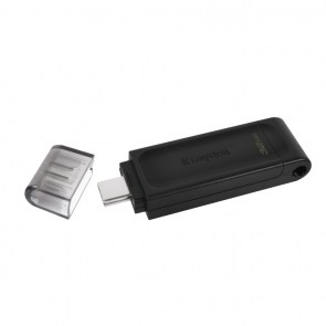 KINGSTON USB Stick Data Traveler DT70/32GB, USB 3.2 Type-C, Black