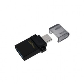 KINGSTON USB Stick Data Traveler DTDUO3G2/32GB, USB 3.2, Black