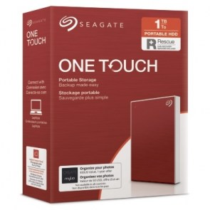 SEAGATE  HDD EXT. OneTouch HDD 1TB, STKB1000403, USB3.0, 2.5'', RED