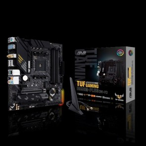 ASUS MOTHERBOARD TUF GAMING B550M-PLUS (Wi-Fi) ,AM4 ,ATX