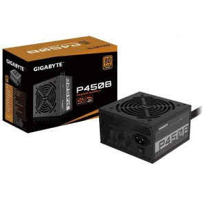 GIGABYTE Power Supply 450W  <B>80+Plus BRONZE</B>
