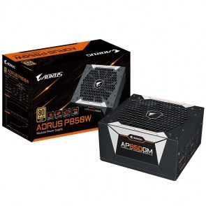 GIGABYTE Power Supply 850W  Fully Modular <B>80+Plus GOLD</B>