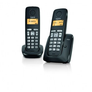 GIGASET Phone Device A120 DUO, black